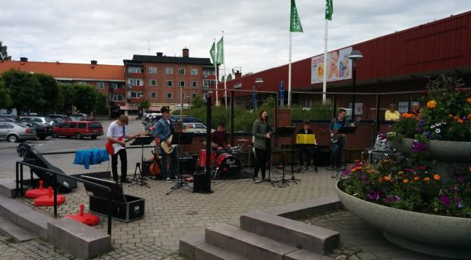 Musik på torget sommarorkestern 2014
