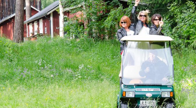2014 år sommar konsert på Borgsjö hembygdsgård