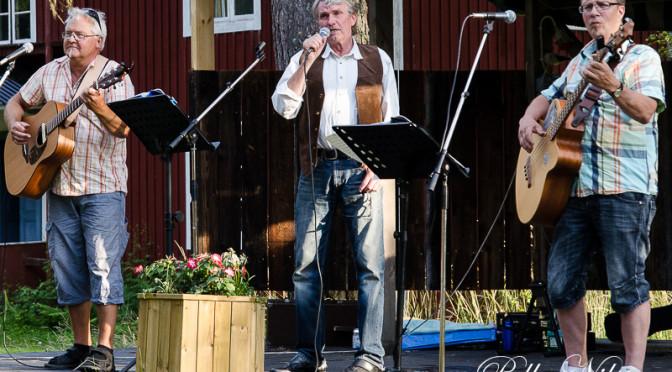 Bridge Band på Borgsjö Hembygdsgård