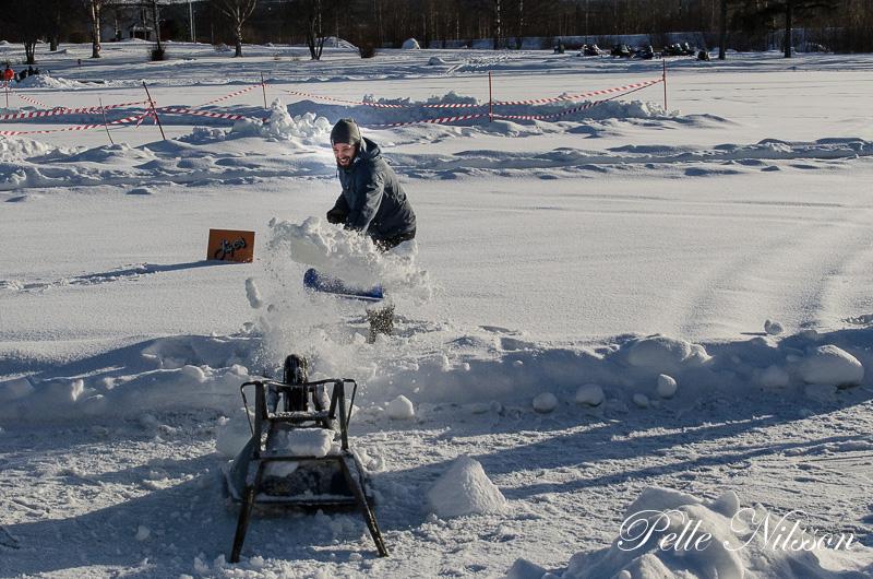 Move i Snöskottartävlingen Foto: Pelle Nilsson / Ljungandalen.info