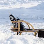 Skridskor som väntar på ny åkare Foto: Pelle Nilsson / Ljungandalen.info