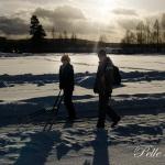 Alla olika snöfordon fanns på plats Foto: Pelle Nilsson / Ljungandalen.info