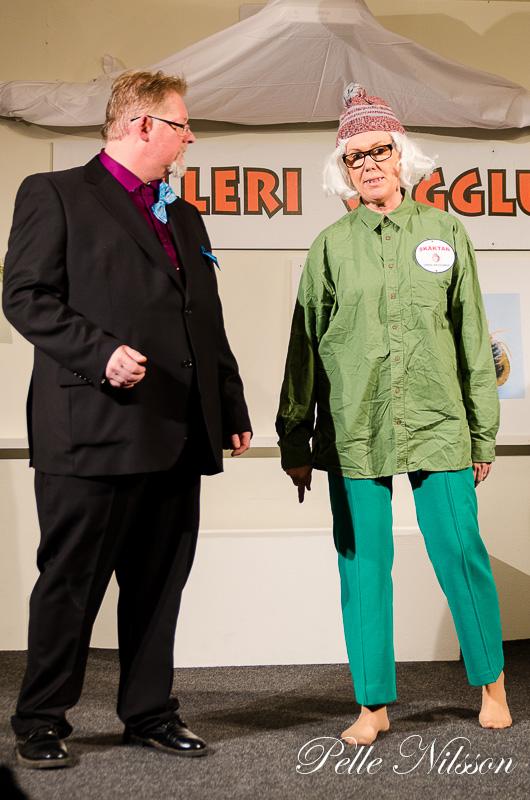Teaterföreställningen Galleri Vägglusen Foto Pele Nilsson