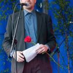 Henrik Winzell,, Nationaldagen 2015 Foto: Pelle Nilsson Ljungandalen.info
