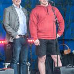 Kevin Larsson Nybliven sm mästare i styrkelyft, Nationaldagen 2015 Foto: Pelle Nilsson Ljungandalen.info