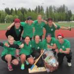 Haikinens slog Östersundslaget Bo Kakkes i finalen med 56-49 Foto: Pär Frank