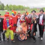 Vilken jävla circus! var det bäst utklädda laget 2015. Foto Pär Frank