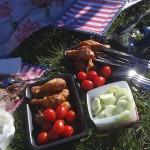 God picnic mat i parken Foto: Anna Selling