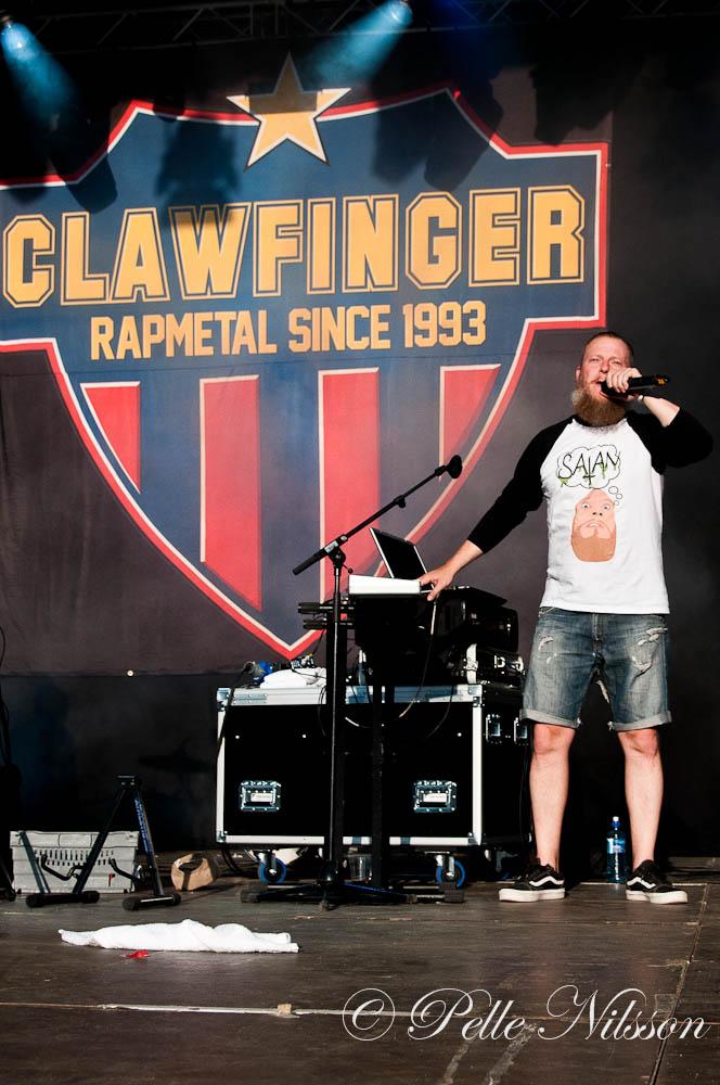Clawfinger Ljungarocken 2015 Foto:Pelle Nilsson Ljungandalen.info