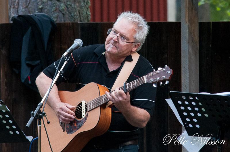George Eriksson i Bridge Band Foto: Pelle Nilsson Ljungandalen.info