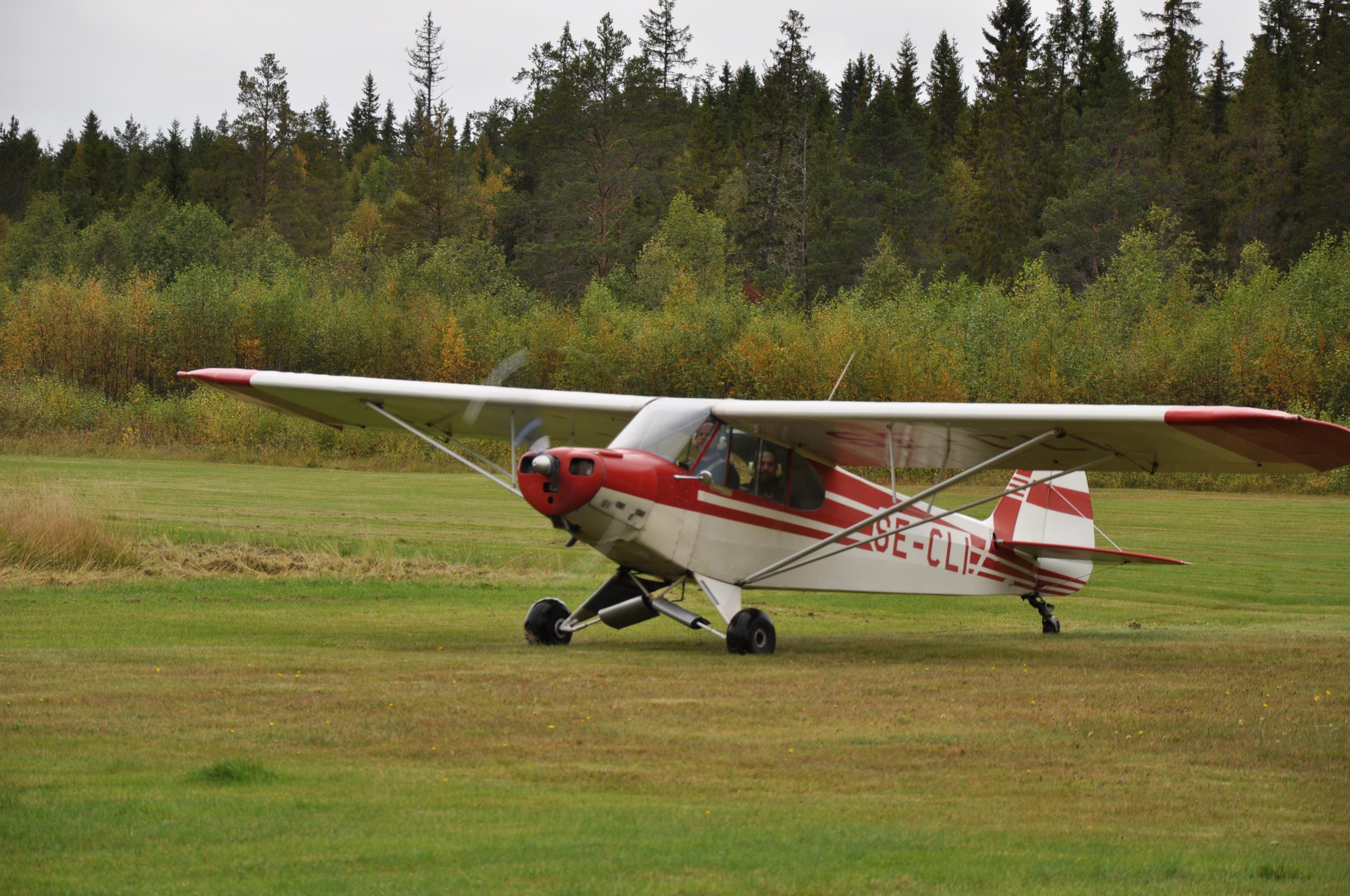 Flygdag på Ånge flygfält Foto: Christer Klemming