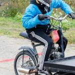 Start på terrängbanan på mopeddag hos Karlsro flyers Foto: Pelle Nilsson Ljungandalen.info