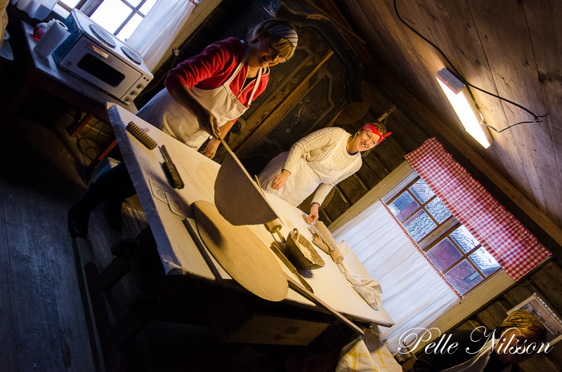 Tunbrödsbagarna på Julmarknad i Borgsjö
