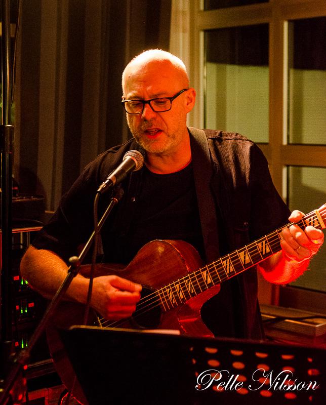 Alf Engström i Ran Clewen band Foto: Pelle Nilsson Ljungandalen.info