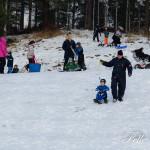 Pulka backen var ett populärt tillhåll för många Foto: Pelle Nilsson / Ljungandalen.info