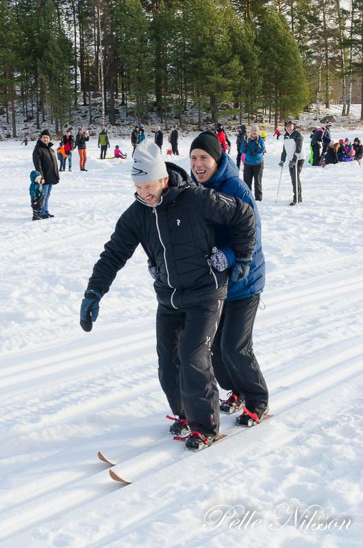 Vinnar laget i två på samma skidor