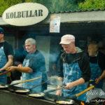 Kolbulle tillverkning på löåande band Mittmarken 2016 Foto: Pelle Nilsson / Ljungandalen.info