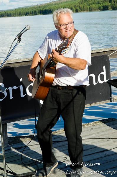 Bridge Band, Eldnäset Flottningsmuseum 2017-07-30 Foto: Pelle Nilsson / Ljungandalen.info