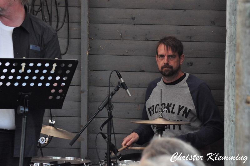 Ran Clewen Band på Stavre Ångbåtsbrugga 2017-07-22 Foto Christer Klemming