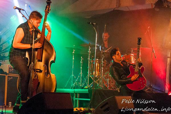 John Lindberg Trio (JLT) End of Summer Meet 2017 Foto: Pelle Nilsson / Ljungandalen.info