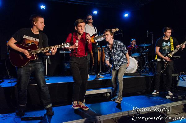 """""""Ska det låta så?"""" Konsert med Musikerlinjen på Ålsta folkhögskola Foto: Pelle Nilsson / Ljungandalen.info"""