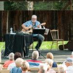 Joel Emanueisson gästade Borgsjö hembygdsgård 2018-07-10 Foto: Pelle Nilsson / Ljungandalen.info