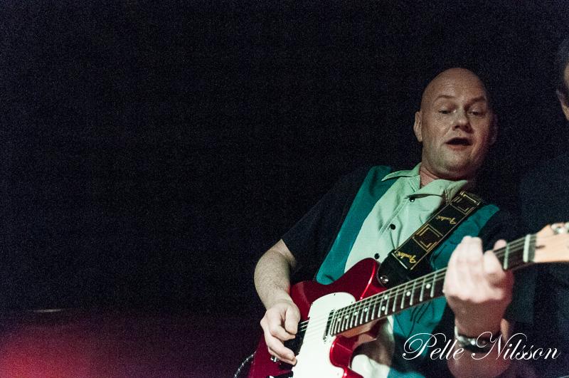 Patrick Rapp frontman i The Nightdrivers. Foto: Pelle Nilsson