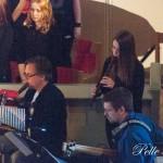 """Musikalen """"Mot hjärtats mitt"""" Göran Månsson Slagverk & flöjt, Henrik Winzell bas är några av musikerna. Foto: Pelle Nilsson Ljungandalen.info"""