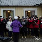 Torpskören sjunger ut våren i Erikslund Foto Pelle Nilsson