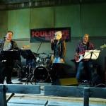 Soulshine Blues Band på Borgsjö hembygdsgård Foto: Ulf Stecksén