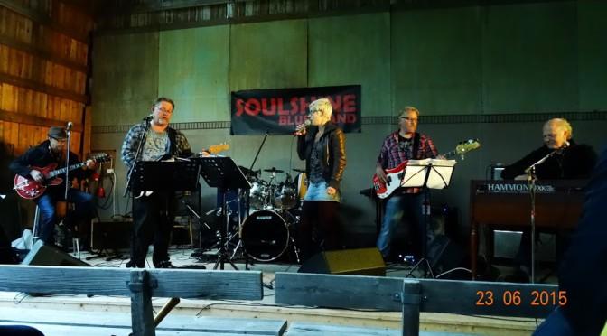 Soulshine Blues Band Borgsjö hembygdsgård