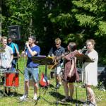 Sommarorkestern 2015 i Haverö strömmar Foto: Pelle Nilsson