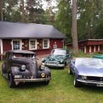 Motor träff Borgsjö hembygdsgård Foto: Carina Borg