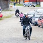 Från Gim Torpshamar på väg till Mopeddag hos Karlsro flyers Foto: Pelle Nilsson Ljungandalen.info