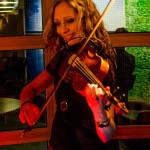 Victoria Landberg i Ran Clewen band Foto: Pelle Nilsson Ljungandalen.info