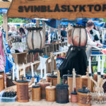 Hantverk på Kälens medeltidsmarknad Foto: Pelle Nilsson / Ljungandalen.info