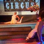Duktuga akrobater på cirkusen i Sommarteatern En Ökensaga Foto: Pelle Nilsson